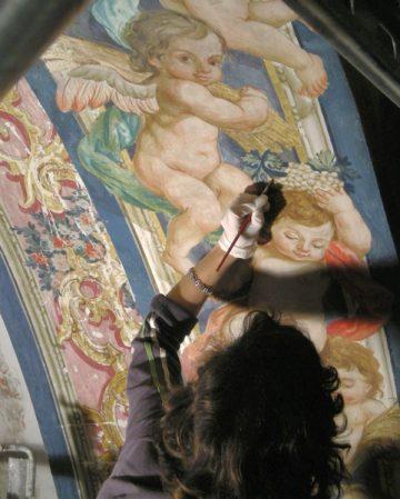 Restaurierung Kirche Los Descalzos, Andalusien